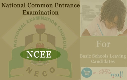 Buy NECO National Common Entrance Registration Cards Online
