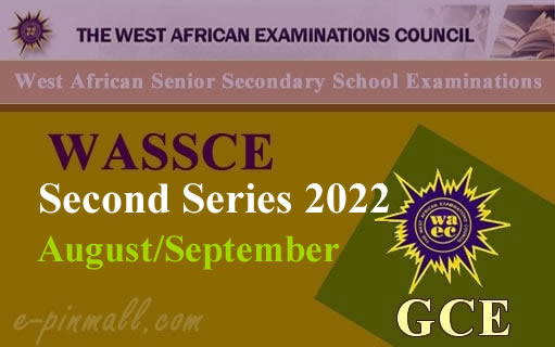 Buy WAEC GCE Registration Cards Online